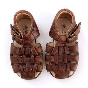 Stride Rite Toddler Brown Baby Guppy Sandals